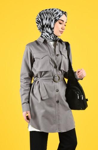 Grau Trench Coats Models 8223-04