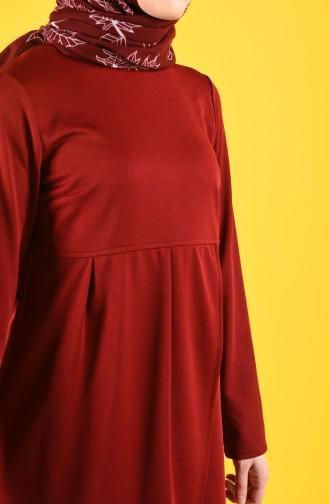 تونيك أحمر كلاريت 1142-03