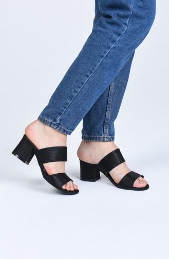 Chaussures a Talons Noir 9102-09