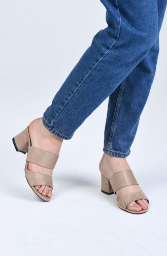 Chaussures a Talons Couleur de teint 9102-10
