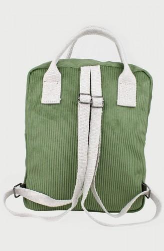 Khaki Back Pack 0158-06