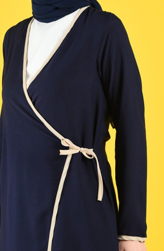 Navy Blue Praying Dress 0616-02