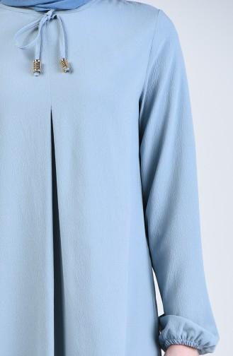 A Pile Elbise 1385-07 Bebe Mavisi