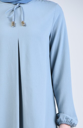 فستان أزرق فاتح 1385-07