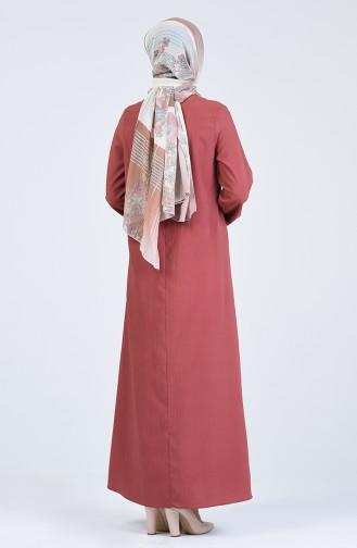 Dunkel-Rose Hijap Kleider 1385-10