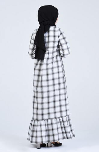Robe Hijab Noir 1387-01