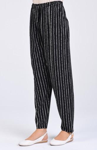 Pantalon Noir 8037-01