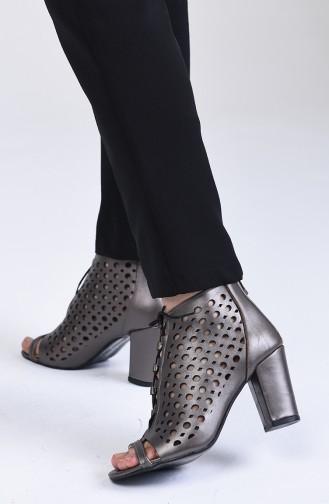 Chaussures a Talons Platine 0105-04
