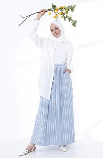 Jupe Bleu 5051-07