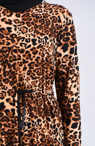 فستان بُني 0222D-01