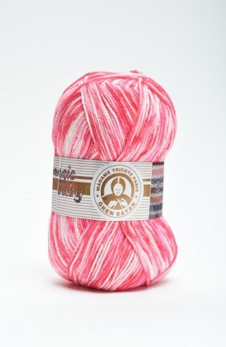 Fils A Tricoter Rose 3000-411