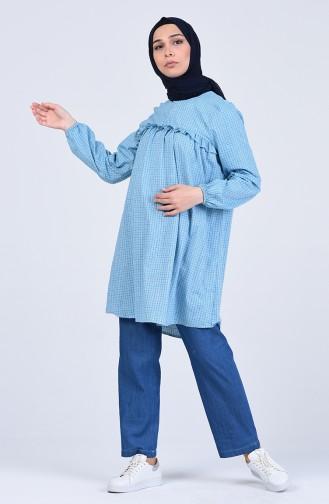 Pantalon Bleu Jean 4045-03