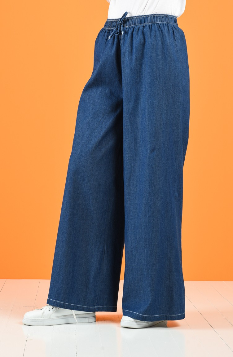 sefamerve pantolon tabita4046 03 5278181589286538354 1 Navy Blue Pants 4046-03