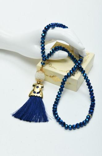 Saxon blue Rosary 13-05
