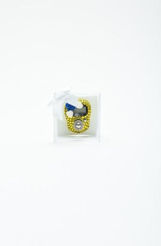 Taşlı Zikirmatik H15-02 Sarı