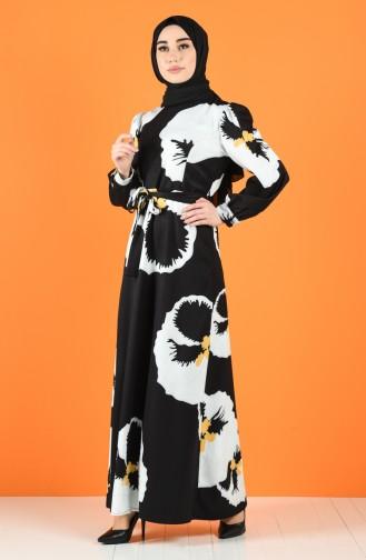 Weiß Hijap Kleider 60138-01
