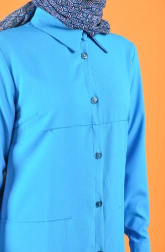 Blau Tunikas 1623-01