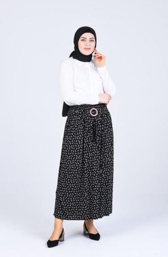Black Skirt 2034A-01