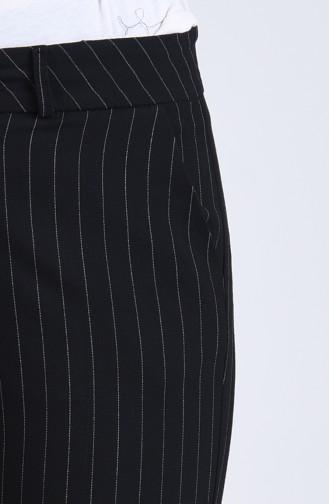 Striped Classic Trousers 3001-01 Black 3001-01