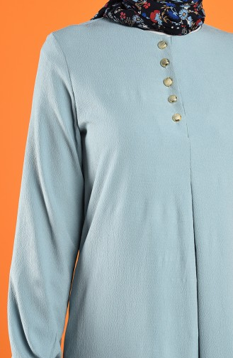 Pleated Dress 1394-09 Baby Blue 1394-09
