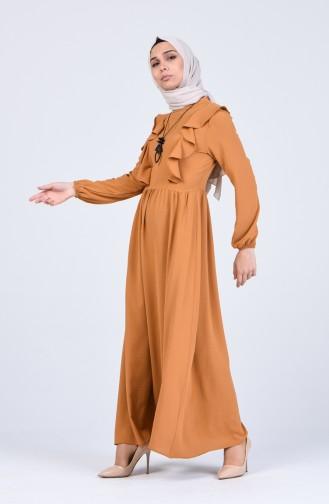 Robe Hijab Caramel 2202-01