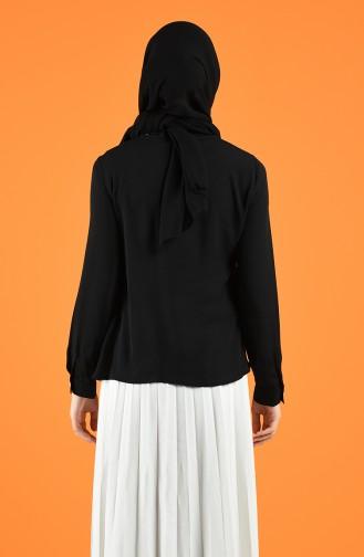 Blouse Noir 1559-01