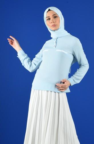 Blouse Bleu 1559-03