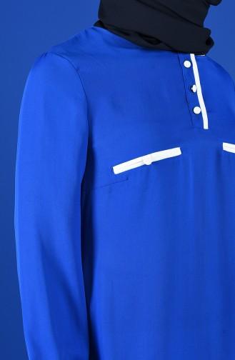 Blouse Blue roi 1559-04