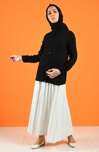 Cepli Gömlek 1558-04 Siyah