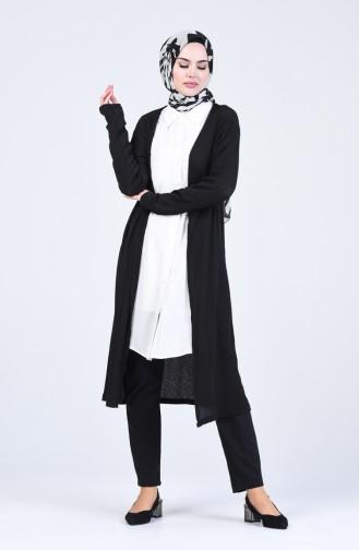 Gilets Noir 8046-01