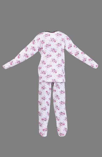 Pyjama Blanc 1400-04