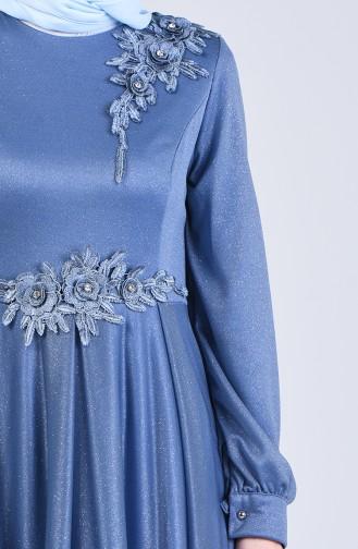 Habillé Hijab Indigo 1020-05
