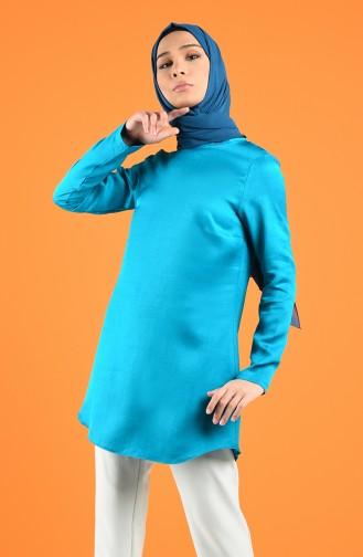 Turquoise Tuniek 3198TNK-01