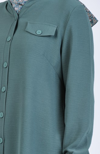 Green Blouse 1303-03