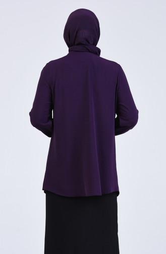 Purple Blouse 1303-05