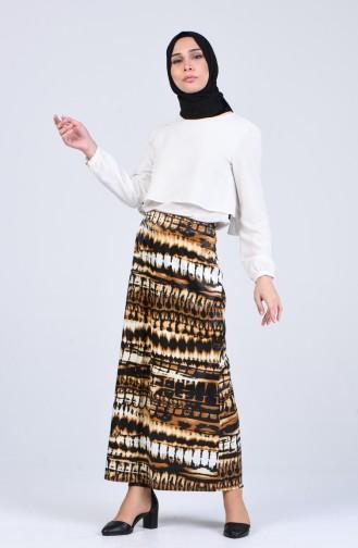 Tobacco Brown Skirt 2130-02