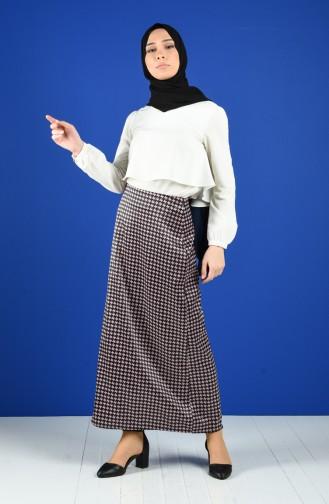 Dusty Rose Skirt 2134-02