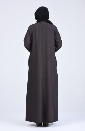 Dunkel-Nerz Abayas 7990-02