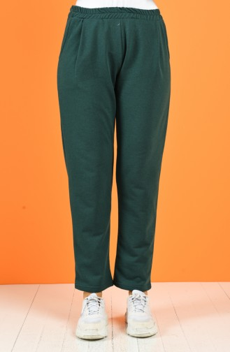 Pantalon Vert emeraude 8127-01
