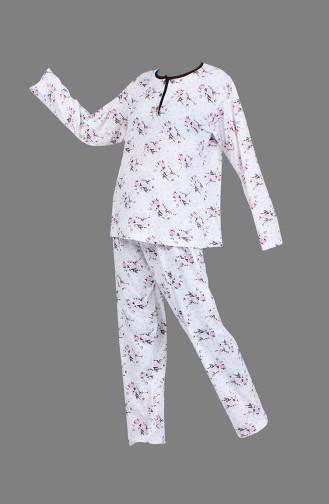 White Pyjama 1400-01