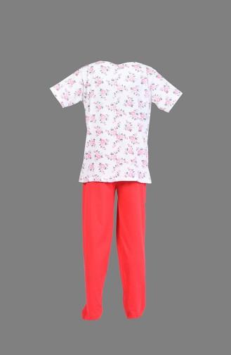 بيجامة أحمر 1200-03