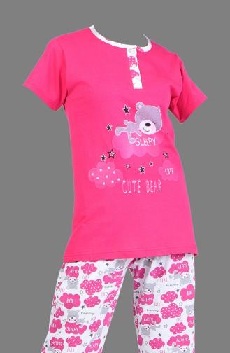 Fuchsia Pyjama 2150-03
