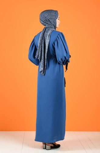 Indigo İslamitische Jurk 5780-02