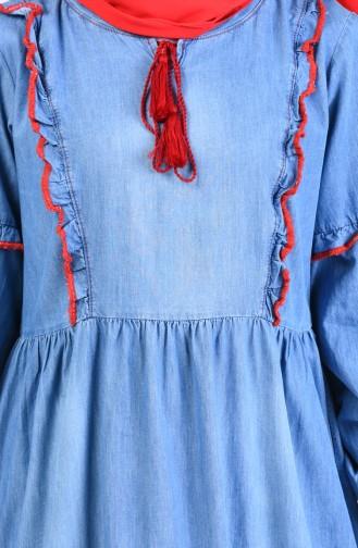 Jeans Blue Dress 8003-01