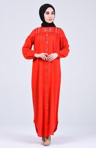 Robe Hijab Rouge 8039-04