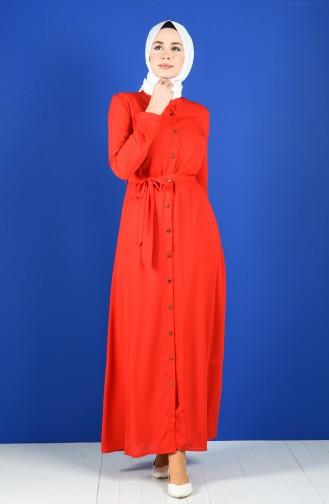 Robe Hijab Rouge 60131-02