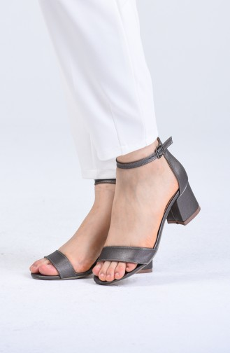 Platin High Heels 0017-05