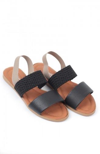 Sandales D`été Noir 8150-0