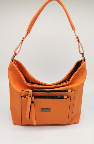 Sac D`épaule Orange 2001-886