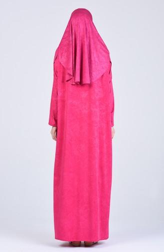 Fuchsia Praying Dress 1118-03